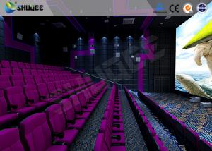 China Cinema 3d Film Sound Vibration Movie Theater Seats With Epson Projector on sale