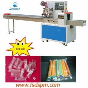 China Drinking Straw Packaging Machinery on sale