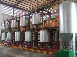 China tire plastics used oil pyrolysis equipment on sale