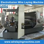 electo fusion saddle wire laying, canex cx-32/160zf , cx-160/315zf, cx-160/400zf  wire lay