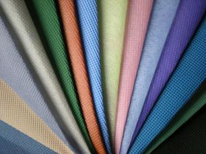 China Hydrophilic PP Non Woven Fabric Wear Resistant For Table Cloth / Sofa Cover on sale