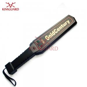 China Rechargeable Super Sensitivity Handheld Metal Detector With 9v battery for security check GC1001 on sale