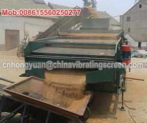 China 20tph removing the impurities screening wheat seed sorting machine on sale