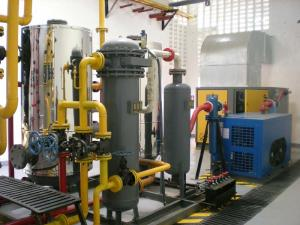 China 60Nm3/H Skid Mounted Equipment Air Separation Unit Oxygen Generator on sale
