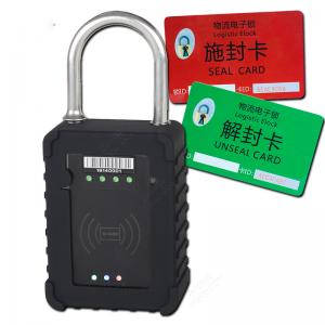 China High Performance GPS Tracking Padlock For Vehicle Report Lock Status on sale