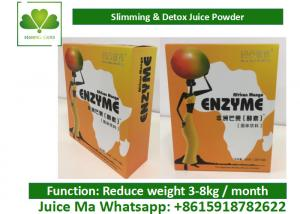 China Detox Tea Juice Diet Weight Loss Africa Mango Enzyme Powder For Fat Burning on sale