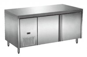 China Restaurant Equipment Commercial Under Counter Freezer Stainless Steel Workbench on sale