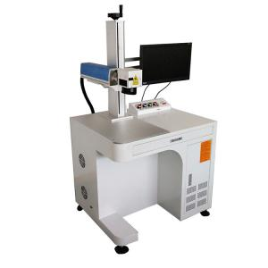 China Portable Jewelry good price Fiber Laser Marking Machine Air Cooled No Consumable on sale