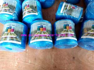 China 22500D Blue PP Raw Material Polypropylene Tying Twine Packing Rope SGS Certification on sale