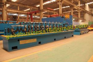 China HG20 HF Straight seam welded tube Mill line on sale