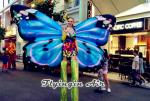 Performance Inflatable Butterfly Wings Costumes for Event and Stage Supplies