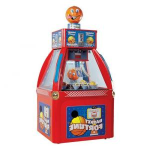 China Basketball Coin Redemption Game Machine 135W For Kids , Adults ML-QF523 on sale