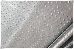 China 3003 Alloy Lentil Aluminum Tread Plate Brite Finish 12' X 36' Good Formability on sale