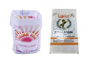Quality Eco Friendly Rice Packaging Bags 20 Kg Bag Polypropylene Folded For