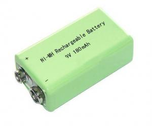 China Cost Effective NiMH 9V 180mAh Battery on sale