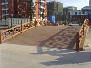 China Recyclable WPC Outdoor Furniture and Bridge for High-grade Villa Community on sale