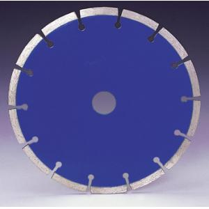 Granite Sintered Blue Color Diamond Saw Blades Dry Cutting  For Hard Materials