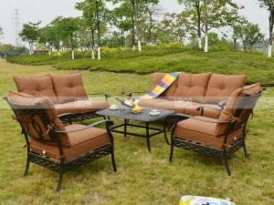 China BML13122 alumicast sofa set all weather outdoor furniture sofa on sale