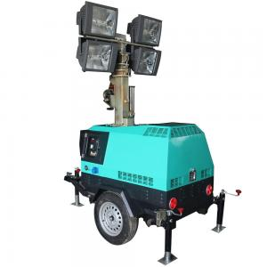 China Mobile Lighting Tower Sales MO-41000A Trailer Light Tower Construction Light Towers on sale