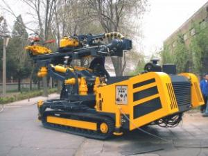 China Rotary Drilling Rig HGY-1500T on sale