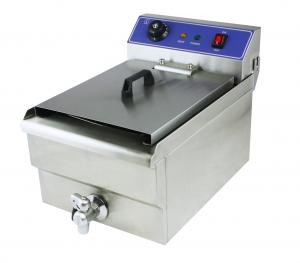 China CE Counter Top Electric Fryer Single Tank Electric Fryer Chip Fryer Fish Fryer Chicken Fryer WF-191V on sale
