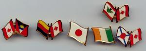 China flag pin, football pin, pin badge, printing badge,Brass/Copper /Zinc alloy/Iron/pewter on sale