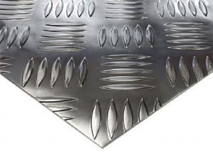 China 3003 5052 6061 2mm Aluminium Sheet / Metal Floor Plate For Bus Floor on sale