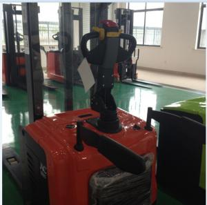 China Full Electric Stacker Capacity 1500 Kg max Lift 1600 mm with EPS with Battery and Charger on sale