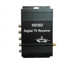 China ISDB-T Brazil 720P, 480P 140 - 190KM/H Upgrades High Definition One Seg Digital TV Receiver on sale