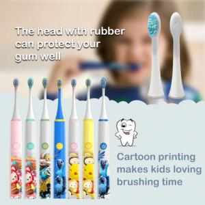 China Waterproof Kids Electric Toothbrush , Usb Charging Baby Electric Toothbrush on sale