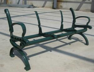 China Environment friendly Anti UV Patio WPC Bench DIY / Long Life WPC Chair on sale