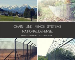 China B/Barbed selvedge Galvanized Chain Link Panels Mesh/Cyclone Fence from   . Victoria  on sale