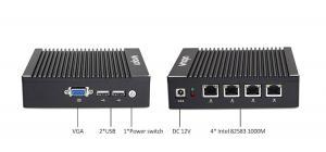 firewall pc 4 LAN J1900 mini pc with Fanless pfsense firewall router