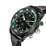 Breathable Leather Strap 3 ATM Anolog Precision Quartz Watch