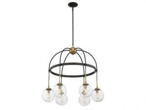 China Home decorative lighting glass modern indoor hanging lighting fixtures chandelier pendant light on sale