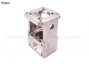 China Square Stainless Steel Wire EDM Spare Parts Customized  Machining for Auto on sale