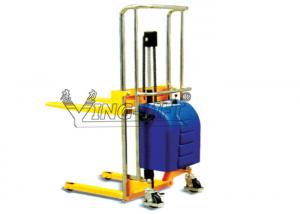 China 200kg to 400kg Electric Stacker Lifting Equipment Hydraulic 85 Height on sale
