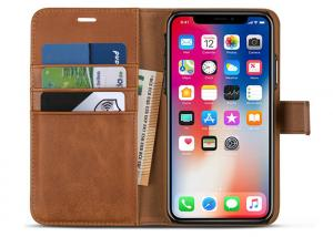 Quality iPhone X Protective Leather Case for sale