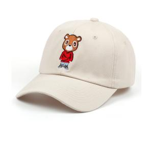 China 100% Cotton Childrens Fitted Hats Sports Cap Plain Embroidered 52-56cm on sale