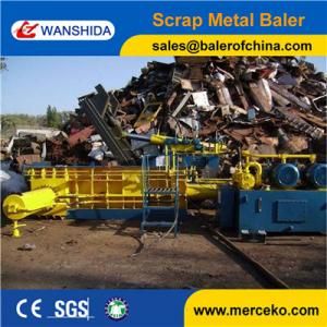 China China manufacturer Hydraulic turn out Metal Baling Press to squeeze Aluminum And Copper Wires on sale