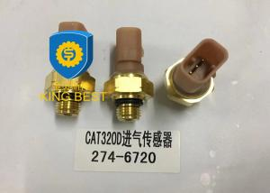 China Brass Cat Excavator Parts Oil Pressure Gauge Sensor 2746720 Use Long Lifespan on sale