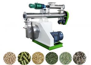China Stainless Steel Pellet Making Machine Medium Farm Feed Pellet Mill SKF Bearing on sale