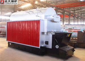 China Commercial Coal Hot Water Boiler , 6 Ton Wood Fired Boiler SGS Certification on sale