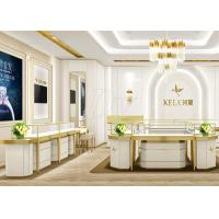 Jewellery Showroom Furniture / Custom Display Cases Professional 3D Design