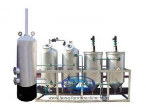 China Palm oil refining machine, coconut oil refining machine on sale