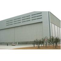 China Large Space Structure Aircraft Hangar Construction Steel Frame Fabrication on sale