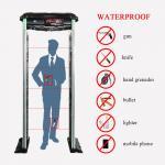 ABS Material Door Frame Metal Detector Waterproof IP65 Arch Walk Through Gate Suit