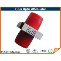 5dB Optical Fiber Optic FC PC Fixed Attenuator Dual Wavelength