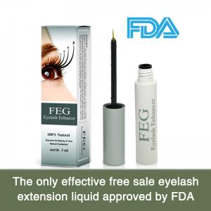 China FDA approved eyelash growth serum /mascara/cosmetics on sale