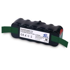 China Melasta High Capacity 4600mAh 14.4v NI-MH Vacuum battery for iRobot Roomba R3 500 600 700 800 Series 510 530 531 532 620 on sale